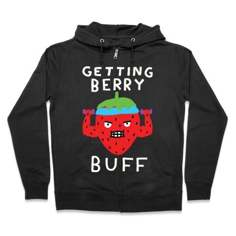 Getting Berry Buff Zip Hoodie