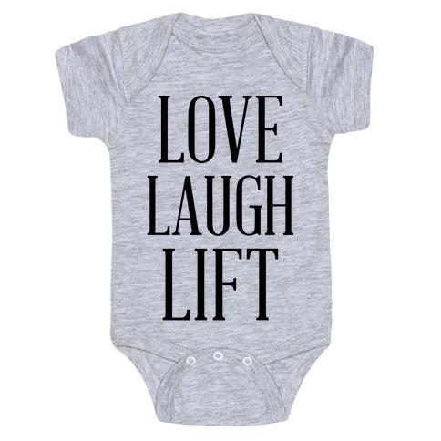Love Laugh Lift Baby Onesy