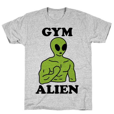 Gym Alien T-Shirt