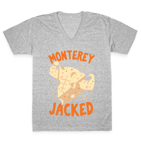 Monterey Jacked V-Neck Tee Shirt