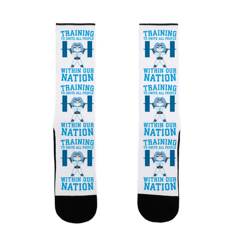 Training To Unite All People Within Our Nation Sock