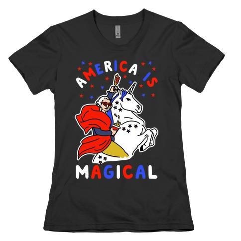 America Is Magical Womens T-Shirt
