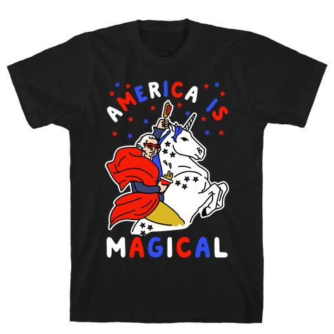 America Is Magical Mens/Unisex T-Shirt