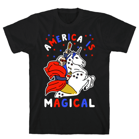America Is Magical Mens/Unisex T-Shirt