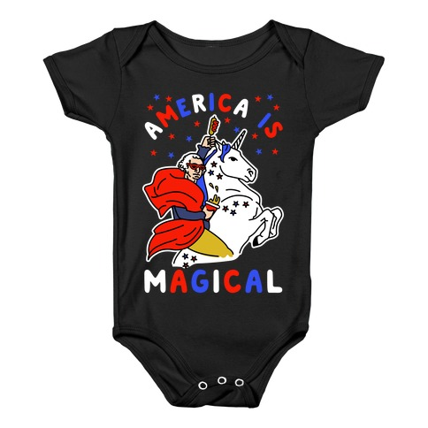 America Is Magical Baby Onesy