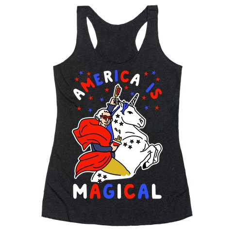 America Is Magical Racerback Tank Top