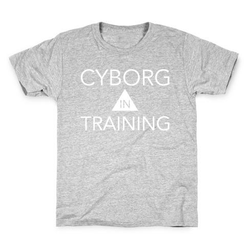 Cyborg In Training Kids T-Shirt