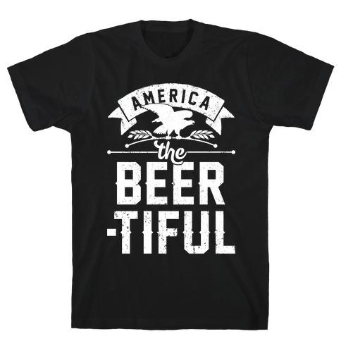 America The Beer-tiful Mens/Unisex T-Shirt