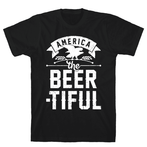 America The Beer-tiful Mens/Unisex T-Shirt