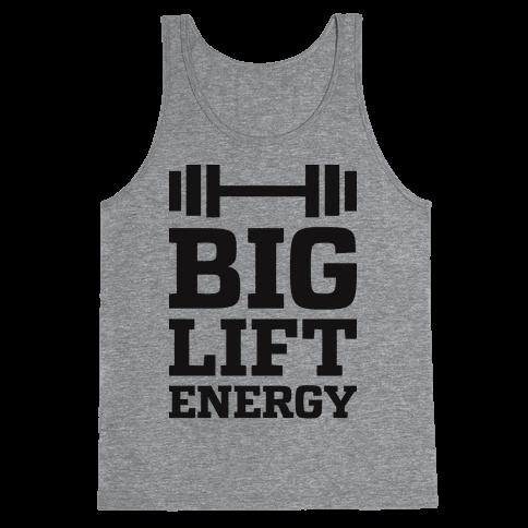 Big Lift Energy Tank Top