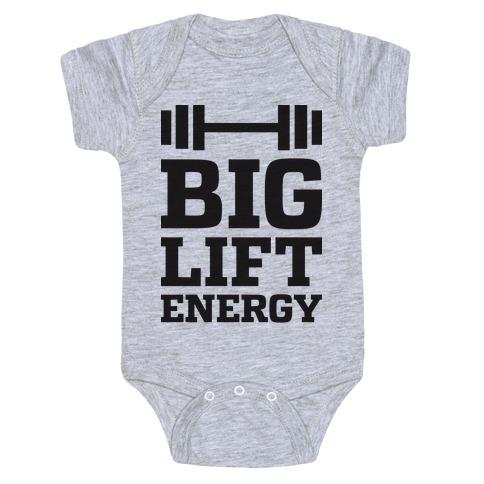 Big Lift Energy Baby Onesy