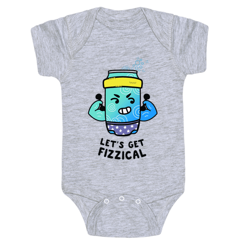 Let's Get Fizzical Baby One-Piece