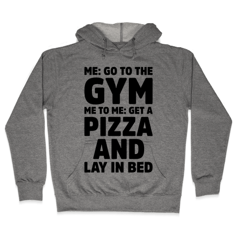 Me To Me Go The Gym Hooded Sweatshirt