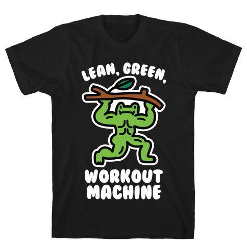 Lean, Green, Workout Machine T-Shirt