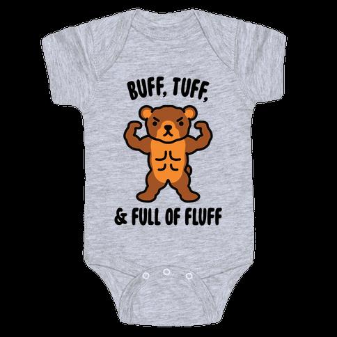Buff, Tuff, & Full of Fluff Baby One-Piece