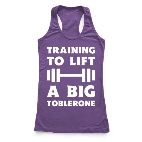 Training To Lift A Big Toblerone