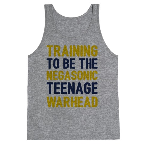 Training To Be The Negasonic Teenage Warhead Tank Top