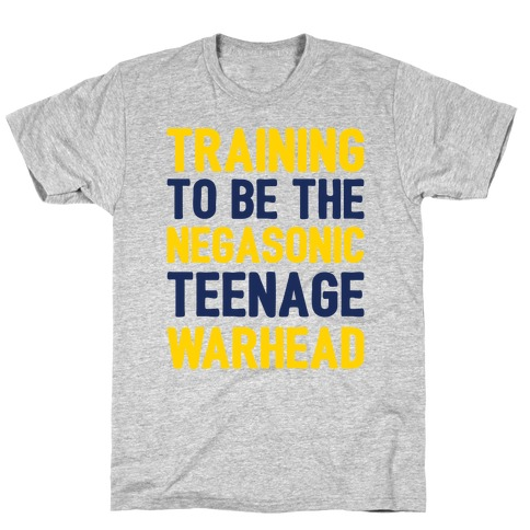 Training To Be The Negasonic Teenage Warhead T-Shirt