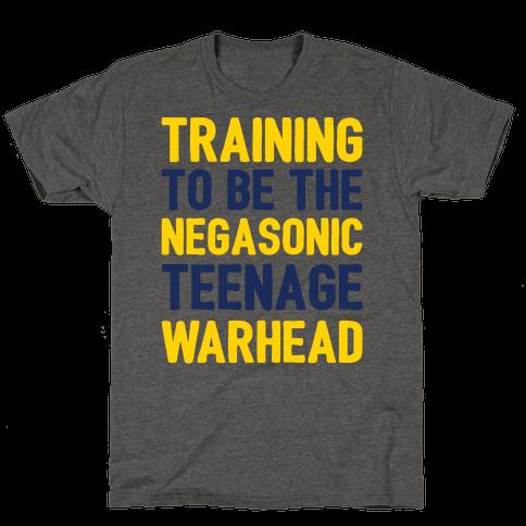 Training To Be The Negasonic Teenage Warhead  Mens T-Shirt