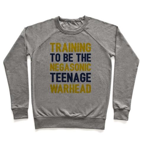 Training To Be The Negasonic Teenage Warhead Pullover