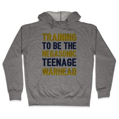 Training To Be The Negasonic Teenage Warhead Hooded Sweatshirt