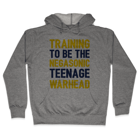 Training To Be The Negasonic Teenage Warhead  Hooded Sweatshirt