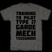 Training to Pilot Type 17 Garde Mech Tsugumori