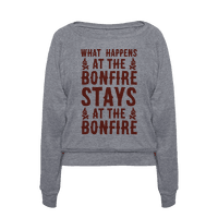 What Happens At The Bonfire Pullover