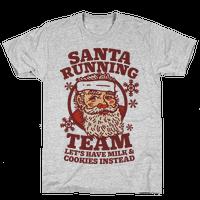 Santa Running Team