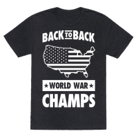 Back to Back World War Champs (light print)