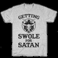 Gaining Swoles For Satan