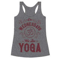 On Wednesday We Do Yoga
