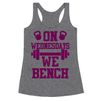 On Wednesdays We Bench