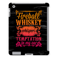 Whiskey Whispers Temptation In My Ear Tabletcase