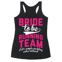 Bride-To-Be Running Team
