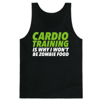 Cardio Training is Why I Won't Be Zombie Food