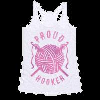 Proud (Crochet) Hooker Racerback