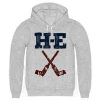 H E Double Hockey Sticks (Hell) Hoodie