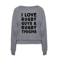 I Love Rugby Guys & Rugby Thighs