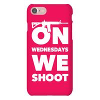 On Wednesdays We Shoot Phonecase