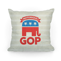 Notorious GOP Pillow