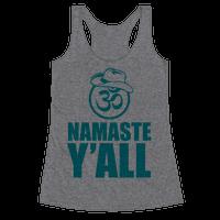 Namaste Y'all (tank)