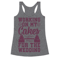 Working On My Cakes For The Wedding