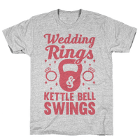 Wedding Rings & Kettle Bell Swings
