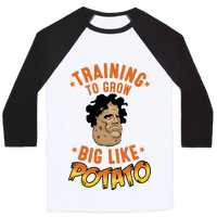 Training To Grow Big Like Potato Baseball