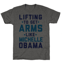 Lifting To Get Arms Like Michelle Obama