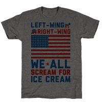 Left-Wing, Right-Wing, We All Scream For Ice Cream