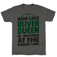 Run Like Oliver Queen is Waiting