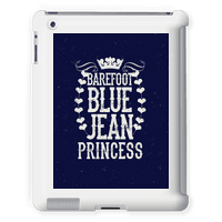 Barefoot Blue Jean Princess Tabletcase
