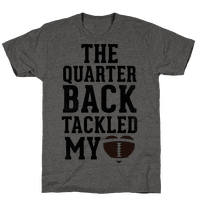 The Quarterback Tackled My Heart